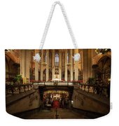 Barcelona Cathedral High Altar And St Eulalia Crypt Weekender Tote Bag