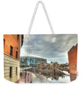 Barclaycard Arena And The Malt House Pub Weekender Tote Bag