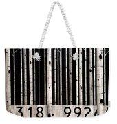 Barcode #19 Weekender Tote Bag