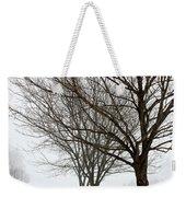 Bare Winter Trees Weekender Tote Bag