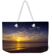 Barefoot Beach Preserve Sunset Weekender Tote Bag