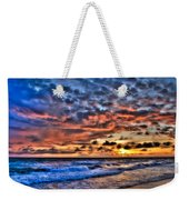 Barefoot Beach Sunset Weekender Tote Bag