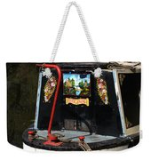 Barge Art Weekender Tote Bag