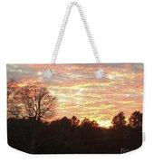 Barium Springs, Nc Sunset Weekender Tote Bag