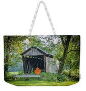 Barkhurst Covered Bridge  Weekender Tote Bag