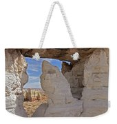Barking Seal Window-v Weekender Tote Bag