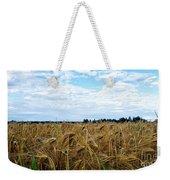 Barley And Sky In Oulu, Finland. Weekender Tote Bag