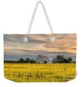Barm In A Yellow Field Weekender Tote Bag