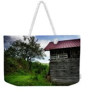 Barn After Rain Weekender Tote Bag