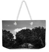 Barn And Palmetto-bw Weekender Tote Bag
