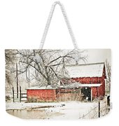 Barn And Pond Weekender Tote Bag