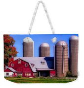 Barn And Silos Hawaiian Chapel Effect Weekender Tote Bag