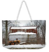 Barn And Tractor Weekender Tote Bag
