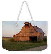 Barn At Early Dawn Weekender Tote Bag