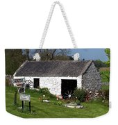 Barn At Fuerty Church Roscommon Ireland Weekender Tote Bag