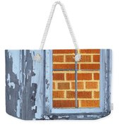 Barn Brick Window Weekender Tote Bag