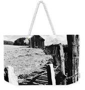 Barn Fence Weekender Tote Bag