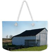 Barn Gettysburg Battle Field Weekender Tote Bag