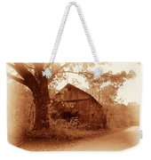 Barn Hocking Co Ohio Sepia Weekender Tote Bag