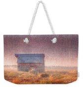 Barn In Early Light  Weekender Tote Bag