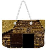 Barn In Sepia Weekender Tote Bag