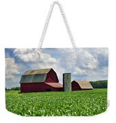 Barn In The Corn Weekender Tote Bag