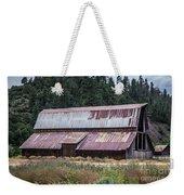 A Colorado Barn In Summer Weekender Tote Bag