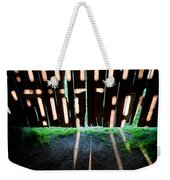 Barn Interior Shadows Weekender Tote Bag