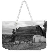 Barn On The River Flat Weekender Tote Bag