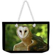 Barn Owl-6553 Weekender Tote Bag