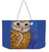 Barn Owl- Impressionism- Owl By Night Weekender Tote Bag