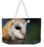 Barn Owl - Intensity Weekender Tote Bag