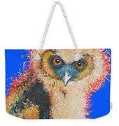 Barn Owl Painting Weekender Tote Bag