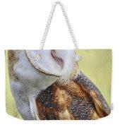 Barn Owl Portrait Weekender Tote Bag