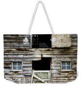 Barn Side Weekender Tote Bag