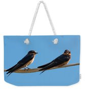 Barn Swallows  Weekender Tote Bag