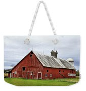 Barn With A Cross Weekender Tote Bag