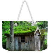 Barn With Green Roof Weekender Tote Bag
