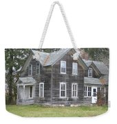 Barn Wood Weekender Tote Bag