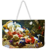 Barnacles And Sea Urchin Among Invertebrates In Monterey Aquarium-california  Weekender Tote Bag