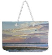 Barnegat Bay At Sunset Weekender Tote Bag