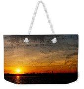 Barnegat Bay Sunset - Jersey Shore Weekender Tote Bag