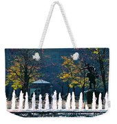 Barney Allis Plaza-kansas City Weekender Tote Bag