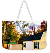 Barns In Autumn Weekender Tote Bag