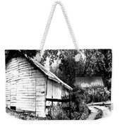 Barns In Black And White Weekender Tote Bag