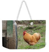 Barnyard Chicken Weekender Tote Bag