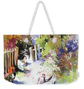 Barnyard Gathering Weekender Tote Bag