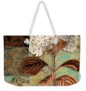 Baroque Hydrangea Patchwork Weekender Tote Bag