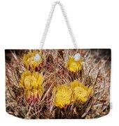 Barrel Cactus Flowers 2 Weekender Tote Bag