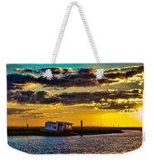 Barrier Island Sunset Weekender Tote Bag